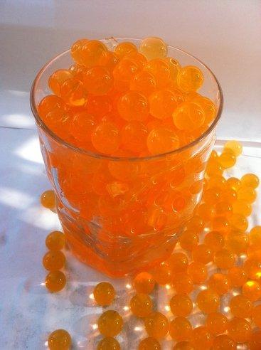 Aqua Perlen Bunte Blumenerde 10 Gramm Farbe orange ergibt 1 Liter Substrat (Grundpreis ERU 19,90/100 Gramm)
