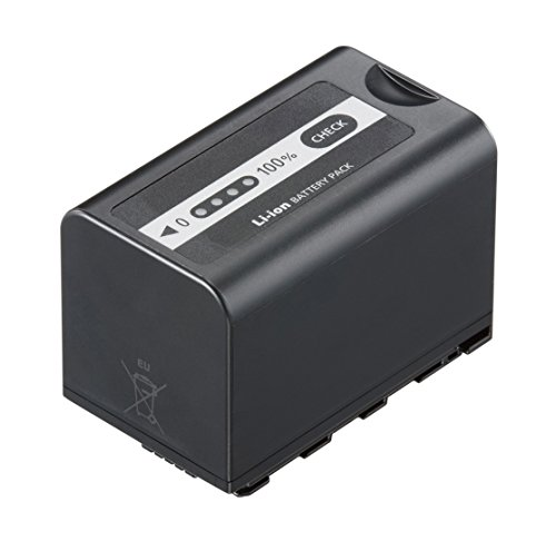 Panasonic Lithium-Ion Akku mit Ladestandsanzeige (geeignet für HC-X1000 Camcorder, 5800mAh, 7,2V)