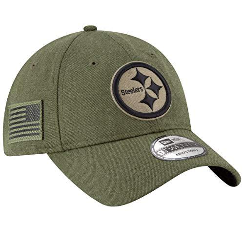 New Era 9Twenty Cap - Salute to Service Pittsburgh Steelers