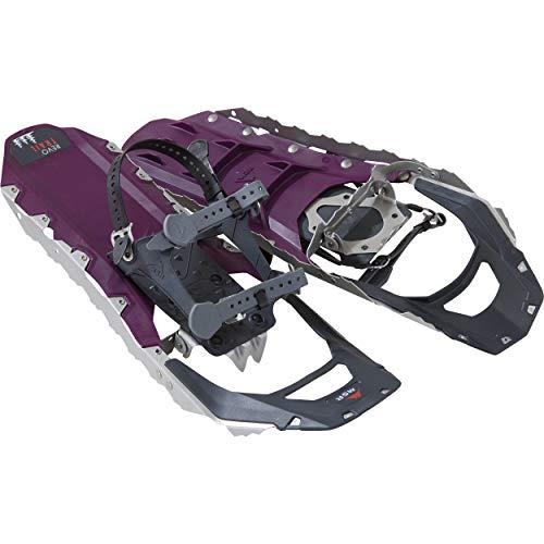 MSR Revo Trail Women's Hiking Snowshoes, 22 Inch Pair, Black Violet