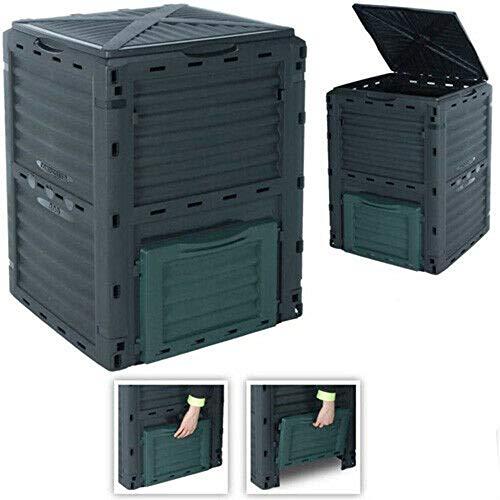 300 Litre Garden Compost Bin, Composter Bin Flat Pack - Made In Europe