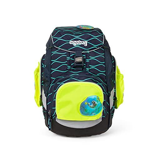 ergobag pack Seitentaschen Zip-Set - Sicherheits-Set mit Seitentaschen, pack, cubo und cubo light, Set 3-teilig