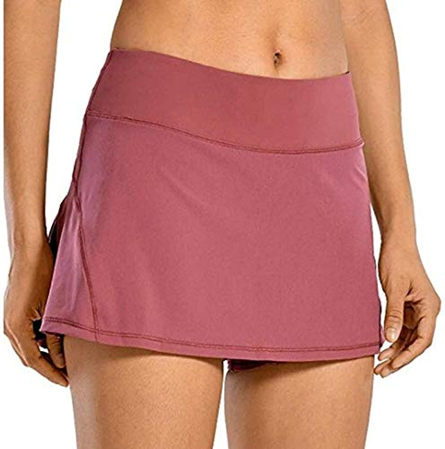 FTYUNWE Falda de tenis corta para mujer con bolsillo