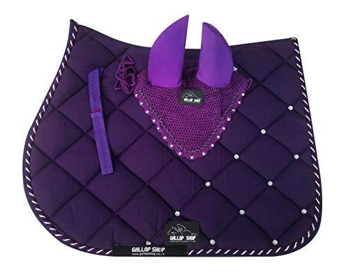 Gallop Shop Tapis de selle pour cheval Violet