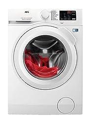 AEG L6FB50470 / tvättmaskin / 7,0 kg / automatisk tvättmaskin med automatisk mängd, omlastningsfunktion, föräldrakontroll, skonsam trumma, vattenstopp / 1400 rpm