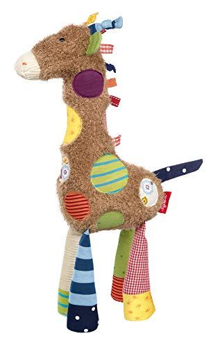 sigikid, Mädchen und Jungen, Stofftier Giraffe Sweety, Braun/Bunt, 38300