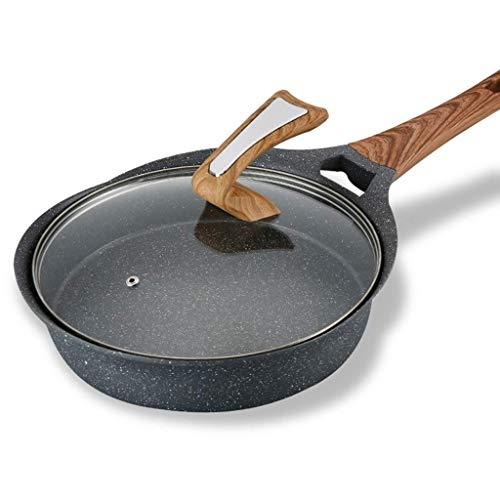 OIPYI Sartén Antiadherente: freír Fideos fritos antiadherentes, adecuados for cocinar Huevos o Huevos fritos
