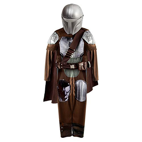 Star Wars The Mandalorian Costume for Boys, Size 7/8