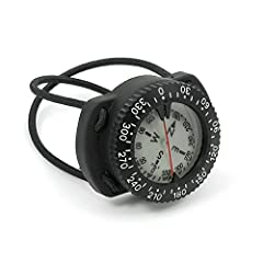 Easy-To-Read Luminescent Face Top and Side Reading option Low Profile Bungee Mount Northern Hemisphere Calibrated