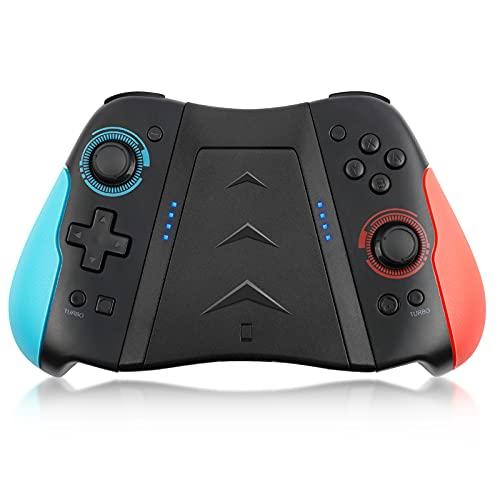 Controller wireless per Nintendo Switch, Geeklin Wireless Pro Controller per Nintendo Switch, Gamepad Joypad per Switch con Turbo/Doppia vibrazione/Giroscopio a 6 assi