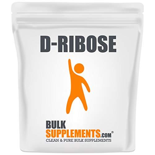 BulkSupplements.com D-Ribose - Energy Supplements - Electrolyte Powder (1 Kilogram - 2.2 lbs - 200 Servings)