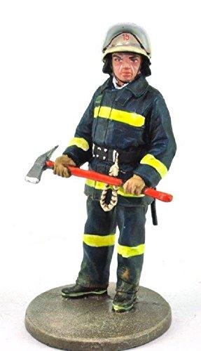 Del Prado Sammelfigur Feuerwehrmann Firefighter Figur Santiago Chile 1982 1:32 ca. 7 cm Metall