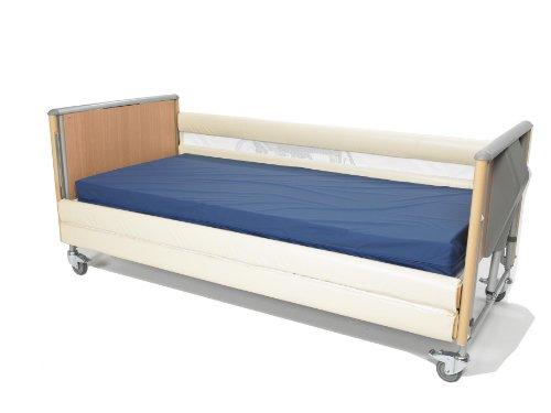 Schutzpolsterungen für hölzerne Bettgitter mit 2 Stangen (Set)