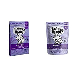 100% NATURAL CHICKEN AND SALMON - Our yummy dry puppy food is made with 100% natural chicken and salmon blended with a super tail-wagging combo of vegetables and herbs for your newest family member. NATURAL INGREDIENTS - This dry dog food recipe is m...