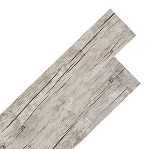 Panel Autoadhesivo Pop Up Panel,Lamas para suelo de PVC autoadhesivas 5,02m² 2mm roble,Los Listones de Suelo de PVC Consta de 36