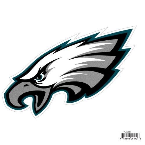 NFL Siskiyou Sports Fan Shop Philadelphia Eagles Logo Magnets 8 inch sheet Team Color