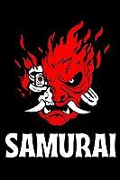 Vintage Samurai Retro Japanese Gaming 2077 Art Game Notebook: cyberpunk Journal cyberpunk 120 pages and (6 x 9) wakahirume.
