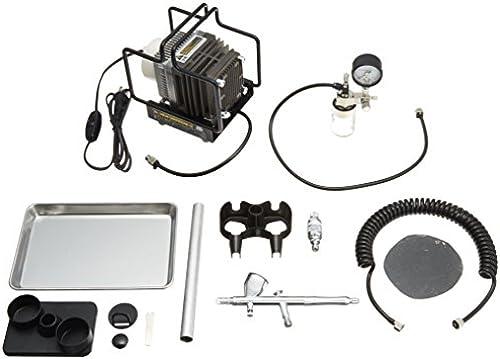 Herr Linearkompressor L5.  Platin Buerste   Manometer mit Regler Set PS3.05.