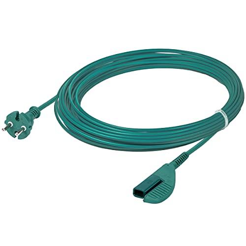 McFilter Kabel für Vorwerk Kobold VK 135/136 Staubsauger - Stromkabel Länge 10m