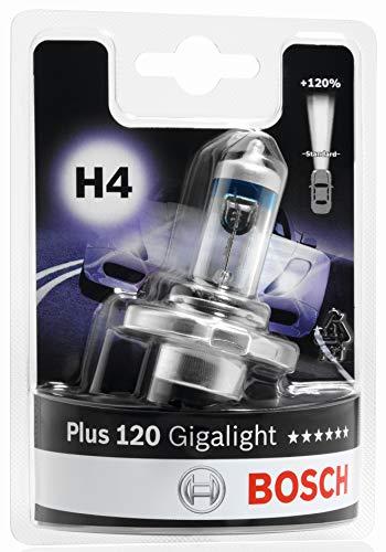 BOSCH Glühlampe Gigalight Plus 120 Xenongas H4, 12V, 60/55W, P43t, Anzahl 1