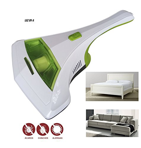 Aspiradora anti bacterias y acaros camas aspirador doble luz UV-A ultravioleta
