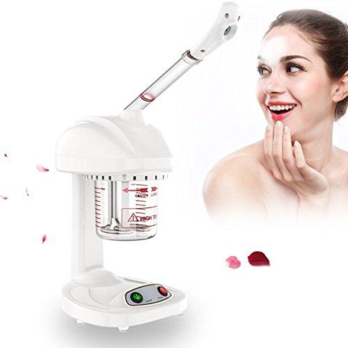 Cocoarm Gesichtssauna Gesichtsdampfer Gesicht Dampf Ozon Dämpfen Ion Sparyer Tragbare Desktop Facial Steamer 360° Dampfmaschine für Gesicht Persönliche Hautpflege Gesichtspflege