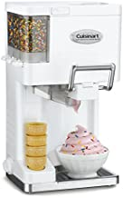 Cuisinart ICE-45P1 Mix Serve 1.5-Quart Soft Service Ice Cream Maker, White