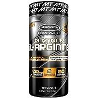 Muscletech Essential Series Platinum 100% L-Arginine Standard - 100 Cápsulas