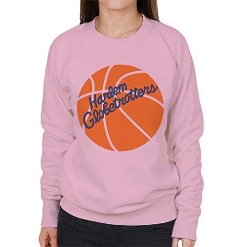 Harlem Globetrotters Hand Drawn Retro Ball Logo Women's Sweatshirt