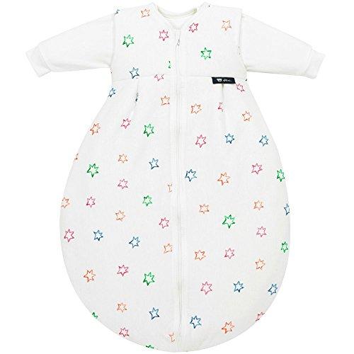 Alvi Baby Kombi-Schlafsack 70 cm, Design:Bunter Stern 583-0