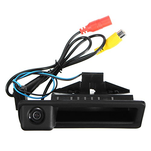 GOZAR Hd-greep CCD-achteruitrijcamera voor BMW E82 E85 E84 E90 E91 E92 E93 E60 E61 E70 E71