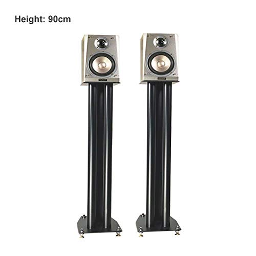Buy Bargain Bookshelf Speaker Floor Stands,for Book Shelf and Surround Sound Speakers with Carpet ...