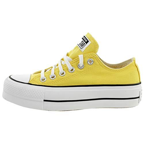 CONVERSE - CTAS Lift OX 568627C Butter Yellow, Tamaño:38 EU
