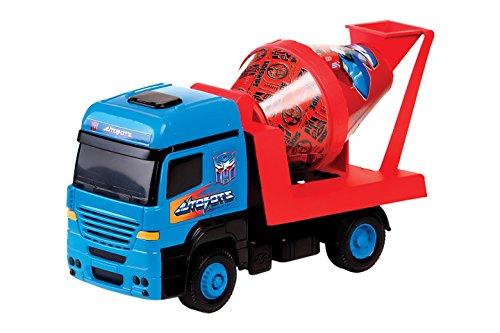 Caminhão Betoneira Transformers Multibrink Vermelho