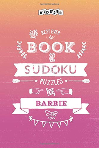 The Best Ever Book of Sudoku Puzzles for Barbie