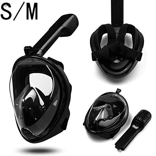 TTZY Diving Mask Scuba Mask Underwater Anti Fog Full Face Snorkeling Mask Women Men KidsSwimming Snorkel Diving Equipment,N02 S M