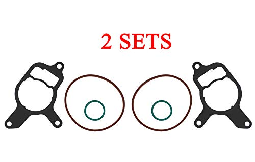 2.5L Vacuum Pump Seal Kit/rebuild Power Steering Seals compatible for Volkswagen Jetta, Beetle, New Beetle, Golf, Rabbit, Passat, and Audi TT RS,replace of 07K145215A 07K145100B 07K145100G 2PCS