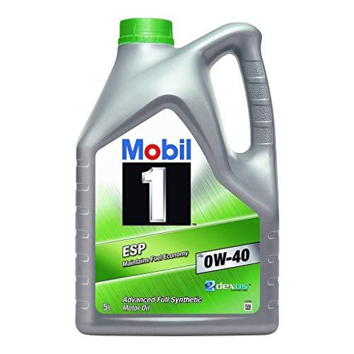 Mobil 1 Motorschmieröl ESP X3 0W-40 Dexos 2, 5 Liter