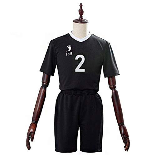 YZJYB 3D Haikyuu REN Omimi Shorts Chándales Verano De Las Mujeres De Dos Piezas Set Pantalón Corto Y Camiseta Chándales Deportiva Conjuntos Traje,S