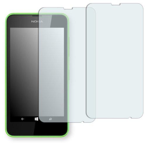 GOLEBO 2 x Semi-Matt Pellicola Protettiva per Nokia Lumia 630/635 - (Antiriflesso, Montaggio Molto Facile, Rimovibile Senza residui Adesivi)