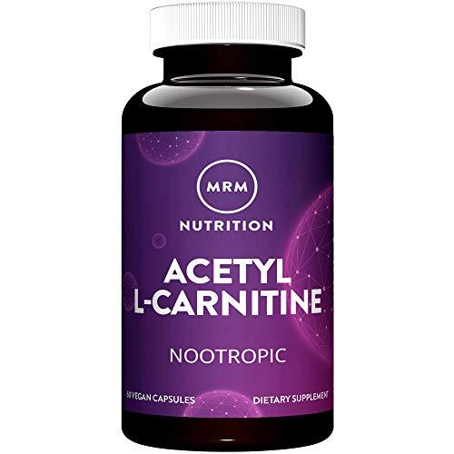 MRM Acetyl L Carnitine 500mg 60 Vegan Capsules