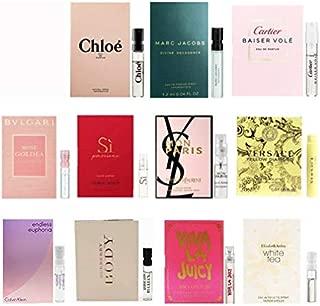 11 Women's Designer Fragrance Vial Sample
