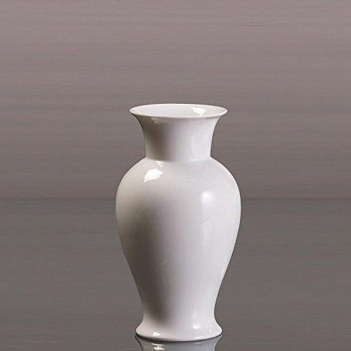 Kaiser Porzellan Kragenvase, Weiß
