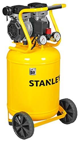 STANLEY - Compresor Siltek Vertical Silencioso 1,3 HP