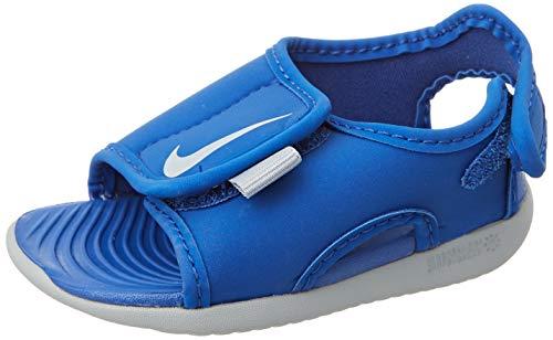 Nike Sunray Adjust 5 V2 (TD) Sport Sandal, Game Royal/Wolf Grey, 25 EU