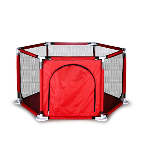 CSQ Valla de protección de los niños, Valla Valla Juego de Interior Que se arrastra niños Playhouse Parque Infantil Valla Cuatro Estaciones del bebé / 125 * 65cm Casa de Juegos para niños
