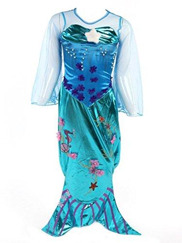 Katara 1777 - Robe de Sirène avec Queue, Costume d'Ariel,...