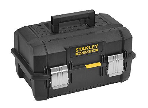 Stanley FatMax Cantilever Werkzeugbox (18 Zoll, 46 x 32 x 24 cm, Koffer für Werkzeuge, Box mit ausladenden Schubfächern, robuster und geräumiger Behälter mit Wasserschutz) FMST1-71219