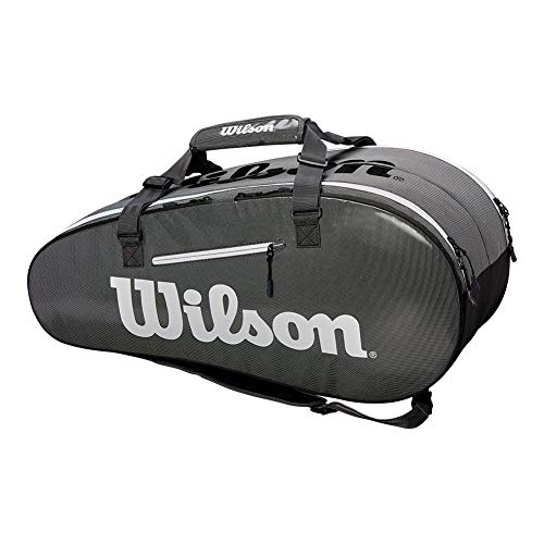 Wilson Super Tour 2 Comp Black/Grey Tennis Nero - Grigio