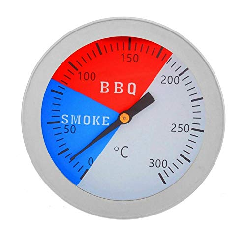 Analoges Ofenthermometer, Edelstahl, Edelstahl, Grill, Grill, Thermometer, Temperaturanzeige